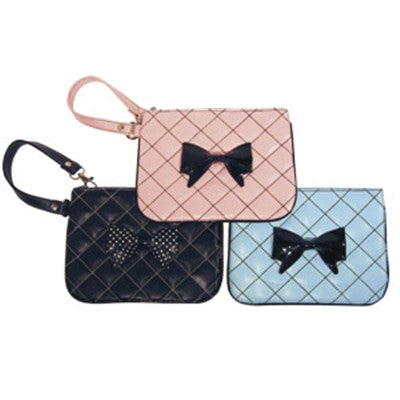 Coco Bow Wrist Clutch - Bark Fifth Avenue