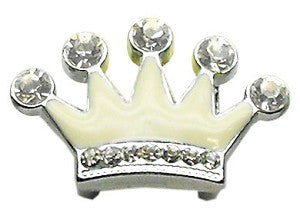 "3/8"" Slider Crystal Crown Charm"