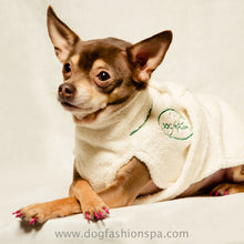Load image into Gallery viewer, Dog Bathrobe - Bark Fifth Avenue