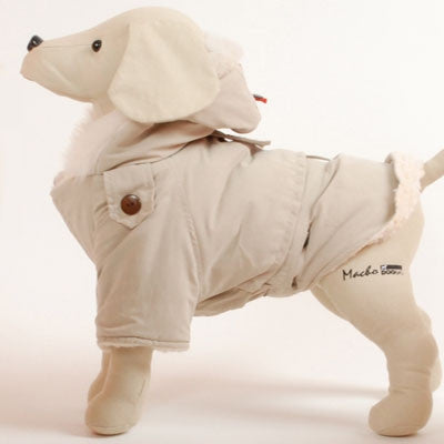 Dogrich Alaskan Cream Winter Dog Coat