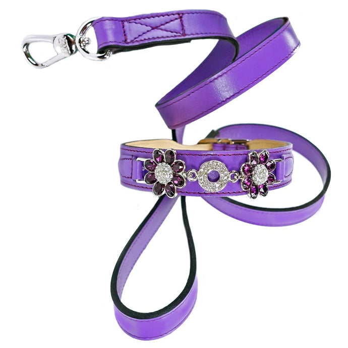 DAISY LEAD IN GRAPE - Bark Fifth Avenue
