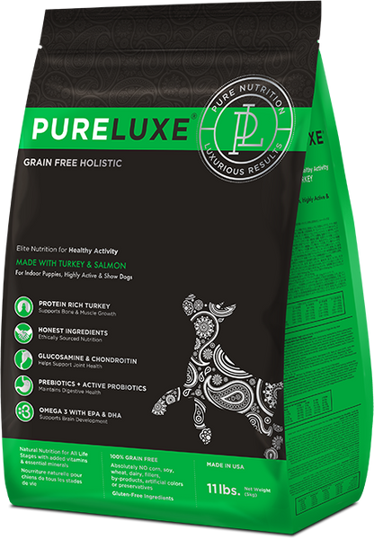 PureLuxe Pet Food- Healthy Activity Formula