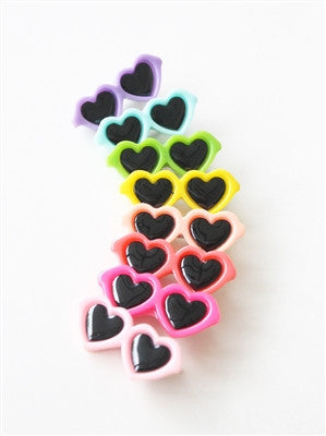 Heart Shaped Sunglasses Barrette - Bark Fifth Avenue
