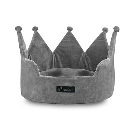 Cloud Crown Bed (Grey)