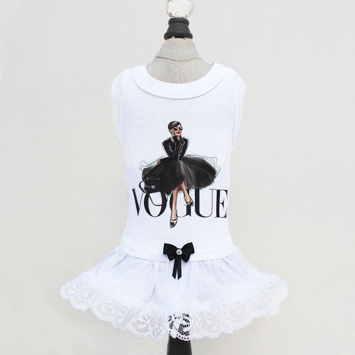 Vogue Dog Dress