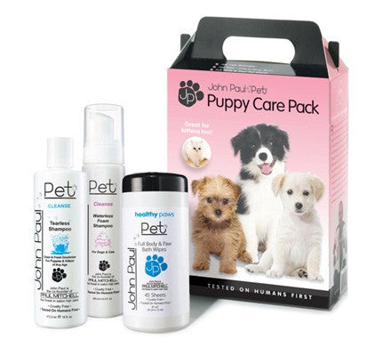 John Paul Pet Products Puppy Care 3-Pack - Bark Fifth Avenue