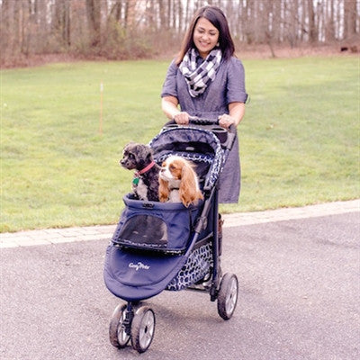 Monaco Aluminum Lightweight frame (Dress Blues) for pets up to 60 lbs.