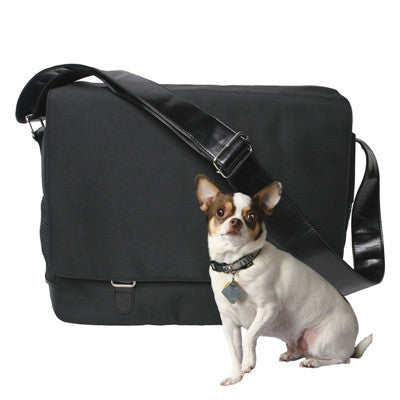 Outback Messenger in Black - Bark Fifth Avenue