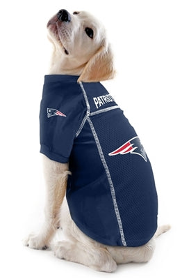 New England Patriots Dog Jerseys - Bark Fifth Avenue