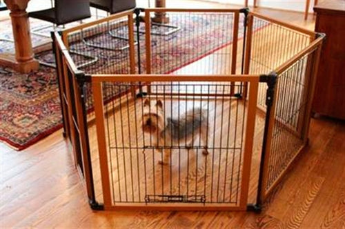 The Perfect Fit Pet Gate - Bark Fifth Avenue