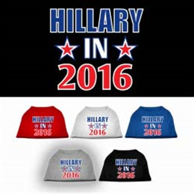Hillary in 2016 Election Screenprint Shirts