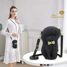 Load image into Gallery viewer, Original Bow Poodle Sling Bag