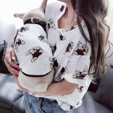 Load image into Gallery viewer, Cotton Frenchie and Matching Mommy/Daddy Tee