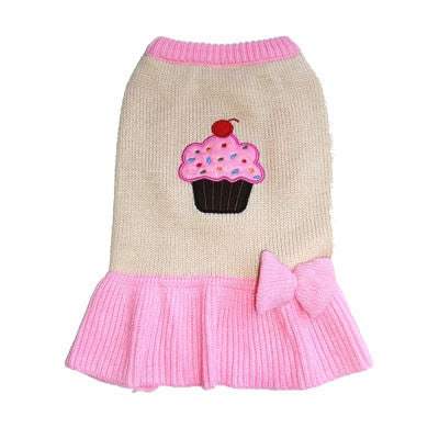 Pupcake Sweater Dress - Bark Fifth Avenue