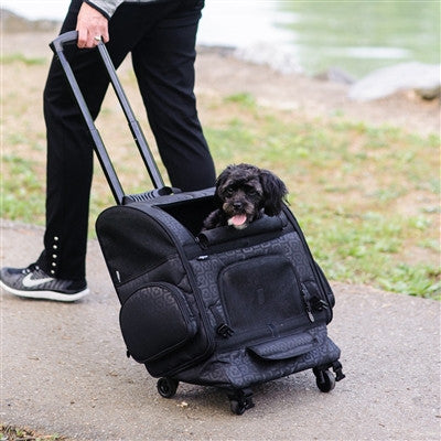 RC1000 Roller-Carrier for Pets up to 10lbs. - Bark Fifth Avenue
