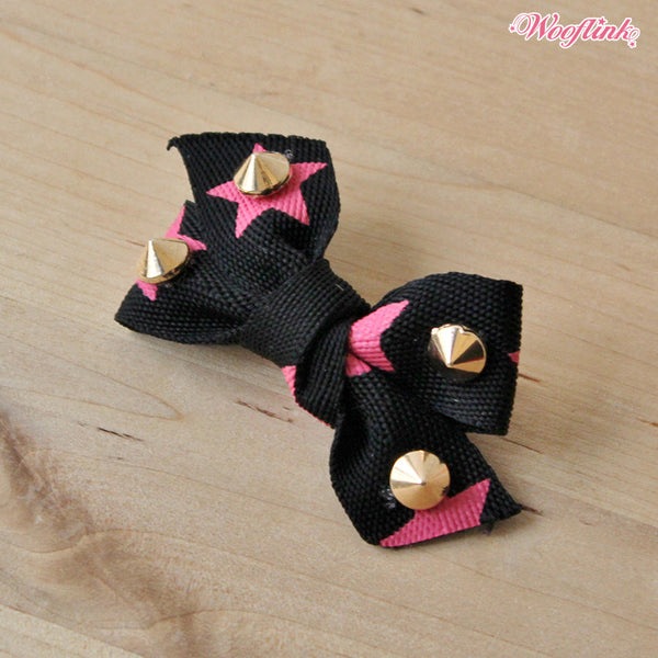 Rocker Hair Bow - Bark Fifth Avenue