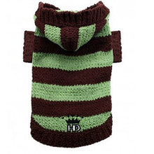 Load image into Gallery viewer, Super Soft Striped Sweater - Brown & Avocado