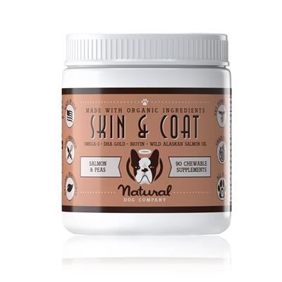 Skin & Coat Supplement (90 chews each)