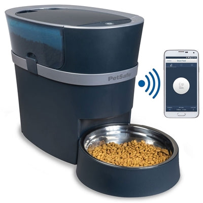 Smart Feed Automatic Pet Feeder for iPhone and Android - Bark Fifth Avenue