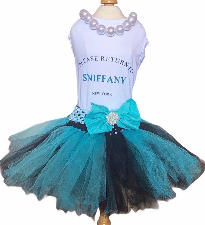 Please Return to Sniffany Tutu & Pearl Dress