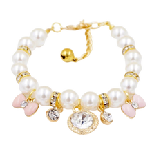 Load image into Gallery viewer, Princess Pearl Charm Necklace