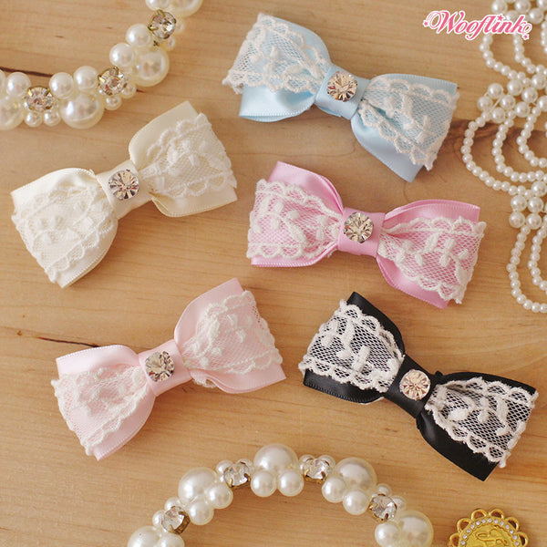 Vintage Girl Hair Bow