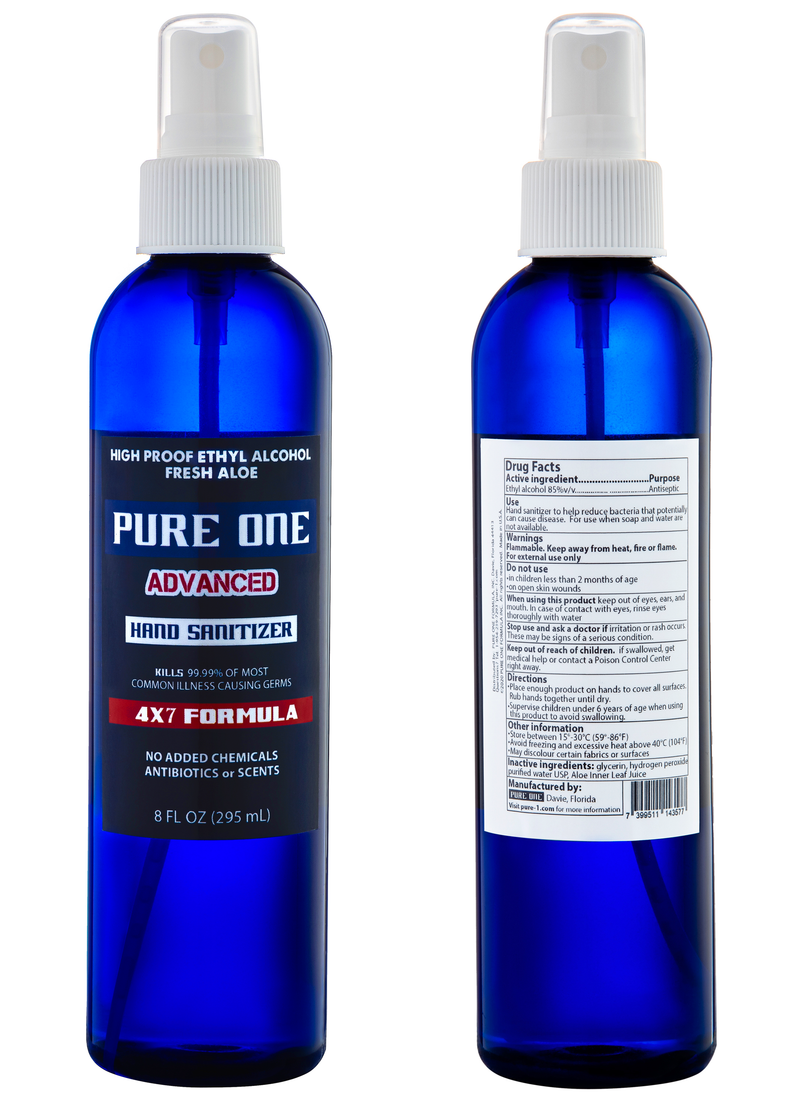 8 oz-Pure One Formula Tall and Thin