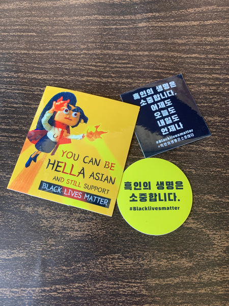 BLM KOREAN STICKERS