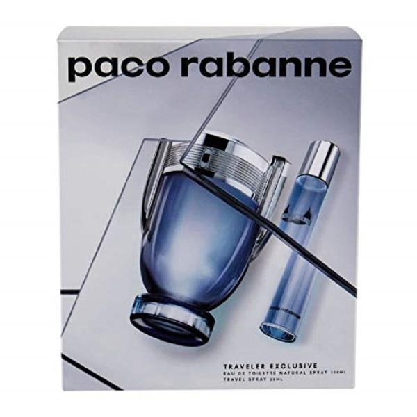 PACO RABANNE COFFRET INVICTUS EDT 100ML + EDT 20ML