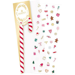 essence x-mas wishes candy kisses scented nail stickers 01