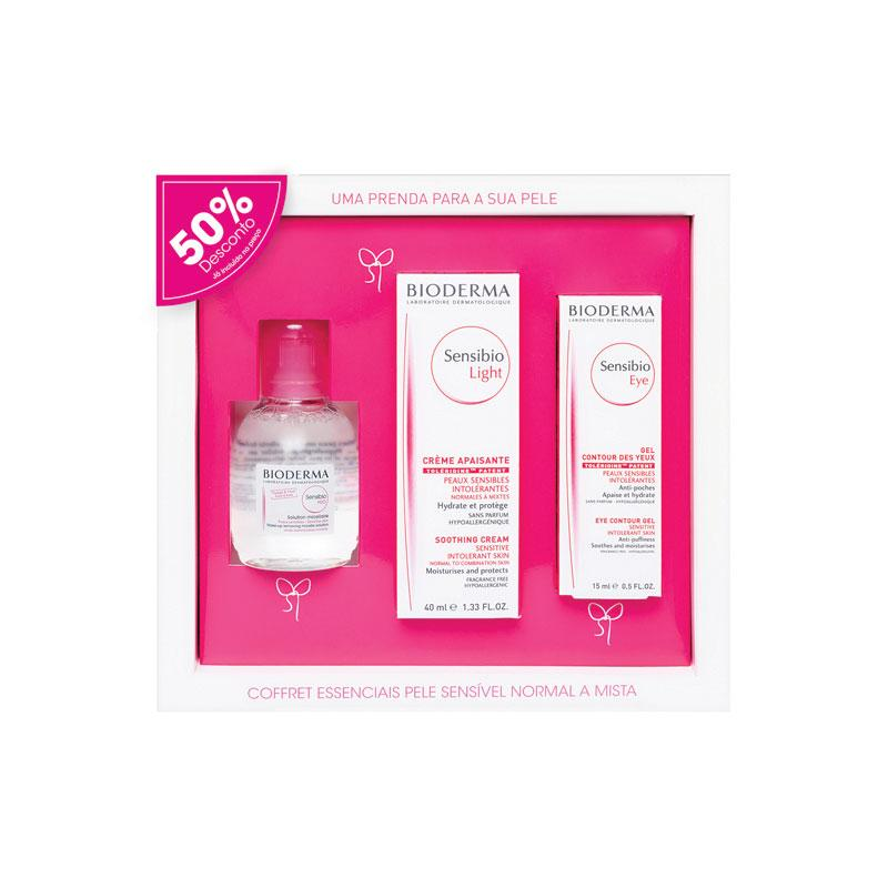 COFFRET SENSIBIO LIGHT BIODERMA