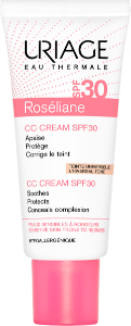 Uriage CC Cream SPF30 Pele Sensivel Roséliane 40 ml