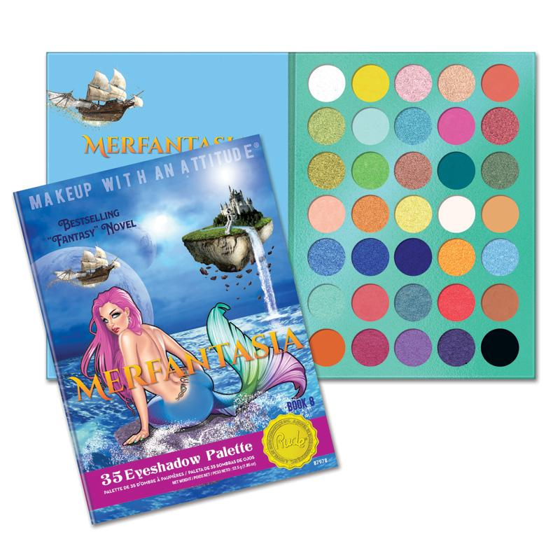 RUDE MERFANTASIA - Book 8 Eyeshadows Palette