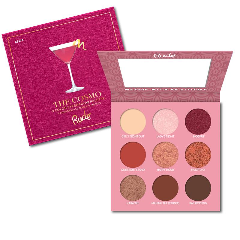 RUDE COCKTAIL PARTY 9 Eyeshadow Palette [ The Cosmo ]