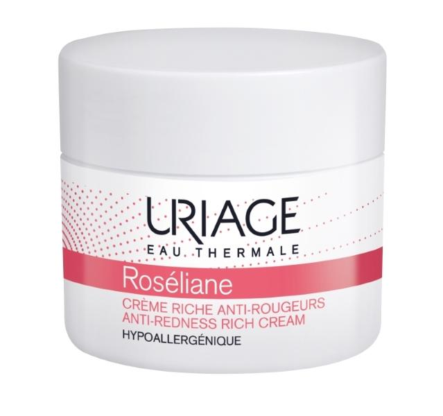 Uriage Creme Rico Anti Vermelhidão Roséliane 50 ml