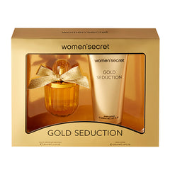 WOMEN´S SECRET GOLD SEDUCTION COFFRET EDP 100ml + BODY LOTION 200ml