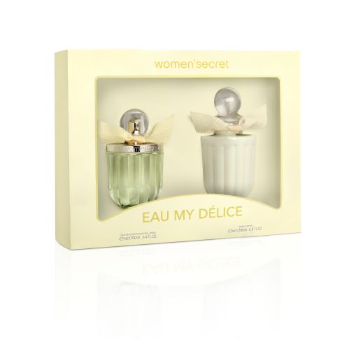 WOMEN'S SECRET EAU MY DELICE COFFRET EDT 100ml + BODY LOTION 200ml