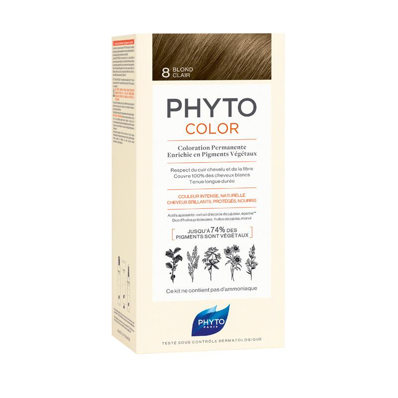 PHYTO COLOR 8 LOURO CLARO