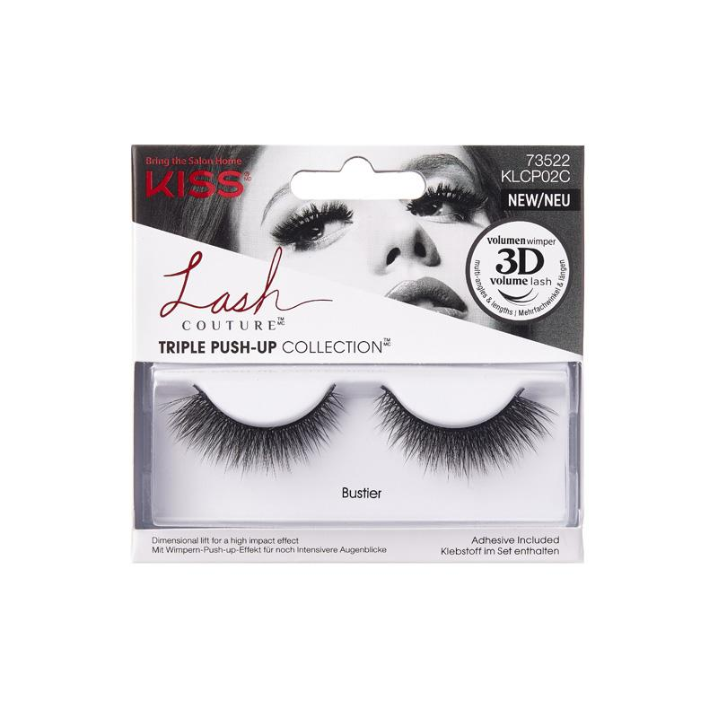 kiss lash couture triple pushup bustie