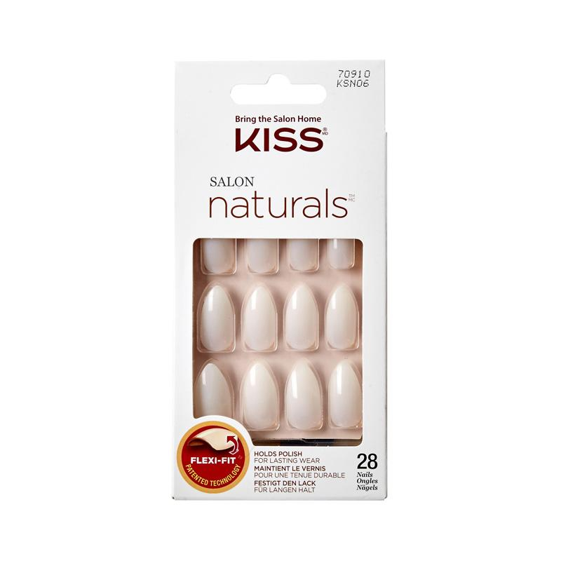 kiss salon natural nail hush now