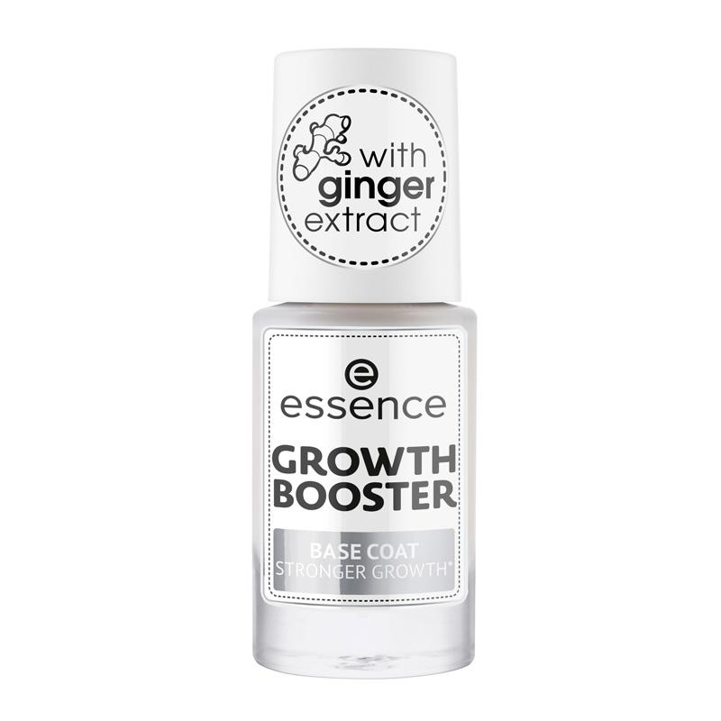 essence GROWTH BOOSTER BASE COAT STRONGER GROWTH