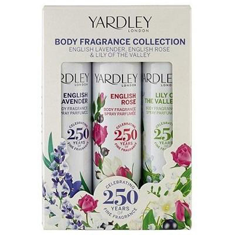 TRIO BODY SPRAY YARDLEY