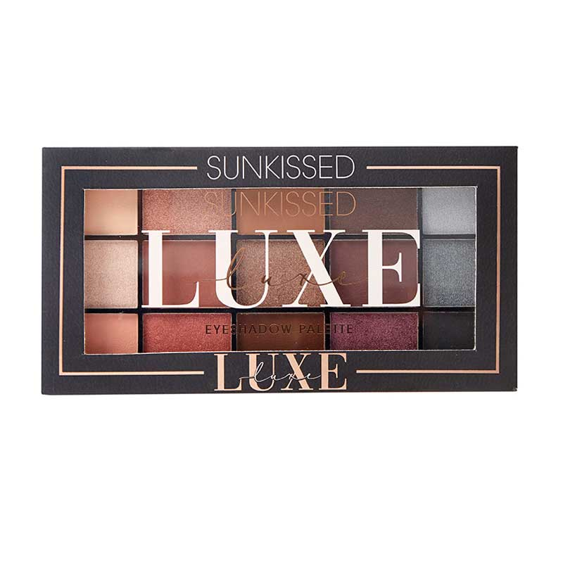 PALETA SOMBRAS DE OLHOS 15 SUNKISSED LUXE