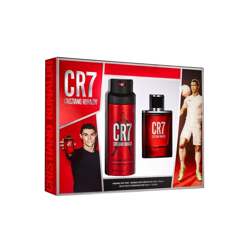 COFFRET CR7 EDT 50ML + BODY SPRAY