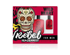 COFFRET REBEL WILD HEART MEN EDT 100ML+30 ML