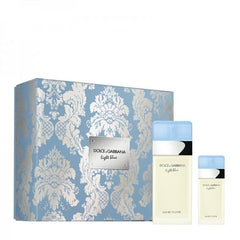 DOLCE & GABBANA COFFRET LIGHT BLUE EDT 100ML + 25ML