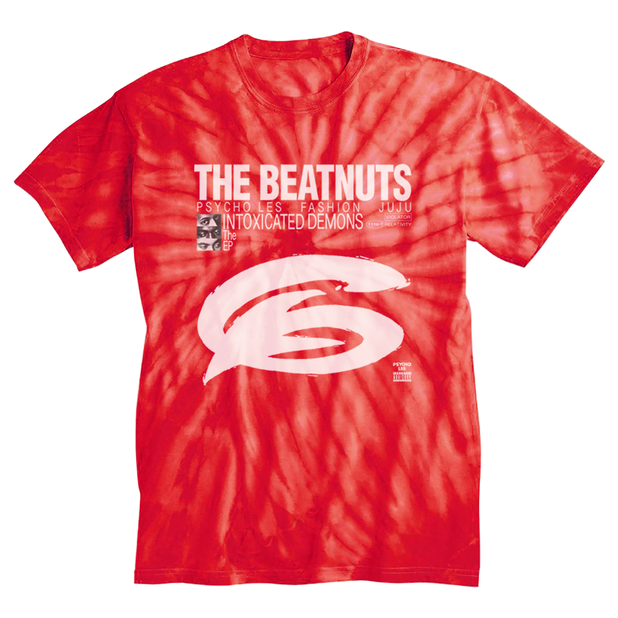The Beatnuts Intoxicated Demons EP Tie Dye Hippie T-Shirt