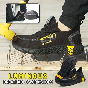 Luminous Breathable Work Shoes