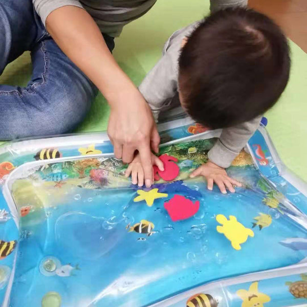 INFLATATERMAT - INFLATABLE WATER MAT FOR BABIES