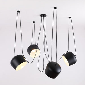 Custom Modern Spider Industrial Pendant Lights for Diving room/Restaurants Kitchen Pendant Lamps E27 Fixtures LED Hanging Lamp